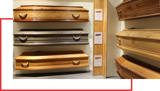 Choix des cercueils - Guesdon Stéphane