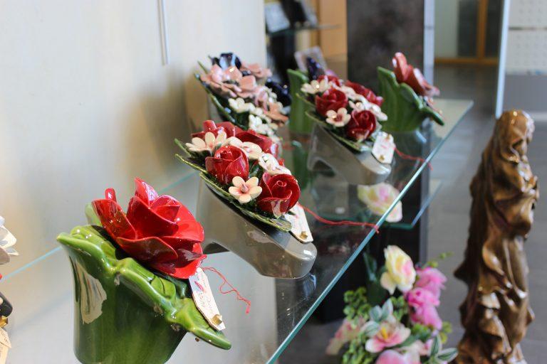Fleurs en céramique - Guesdon Stéphane