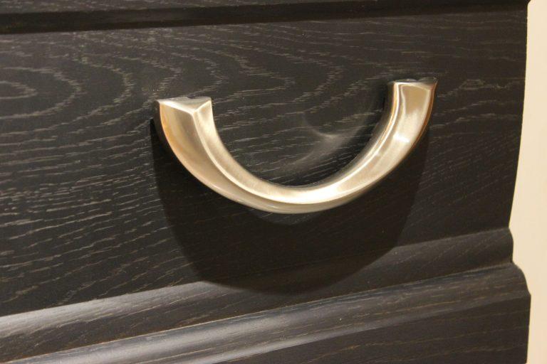 Cercueil noir en bois - Guesdon Stéphane